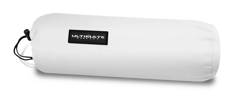 Ultimate USDJ-4TCW 4 Ft DJ/Entertainers Table Cover - White - PSSL ProSound and Stage Lighting