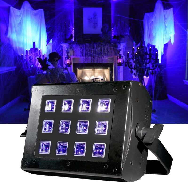 ADJ American DJ UV Flood 36 DMX 36-Watt Wash Black Light - PSSL ProSound and Stage Lighting