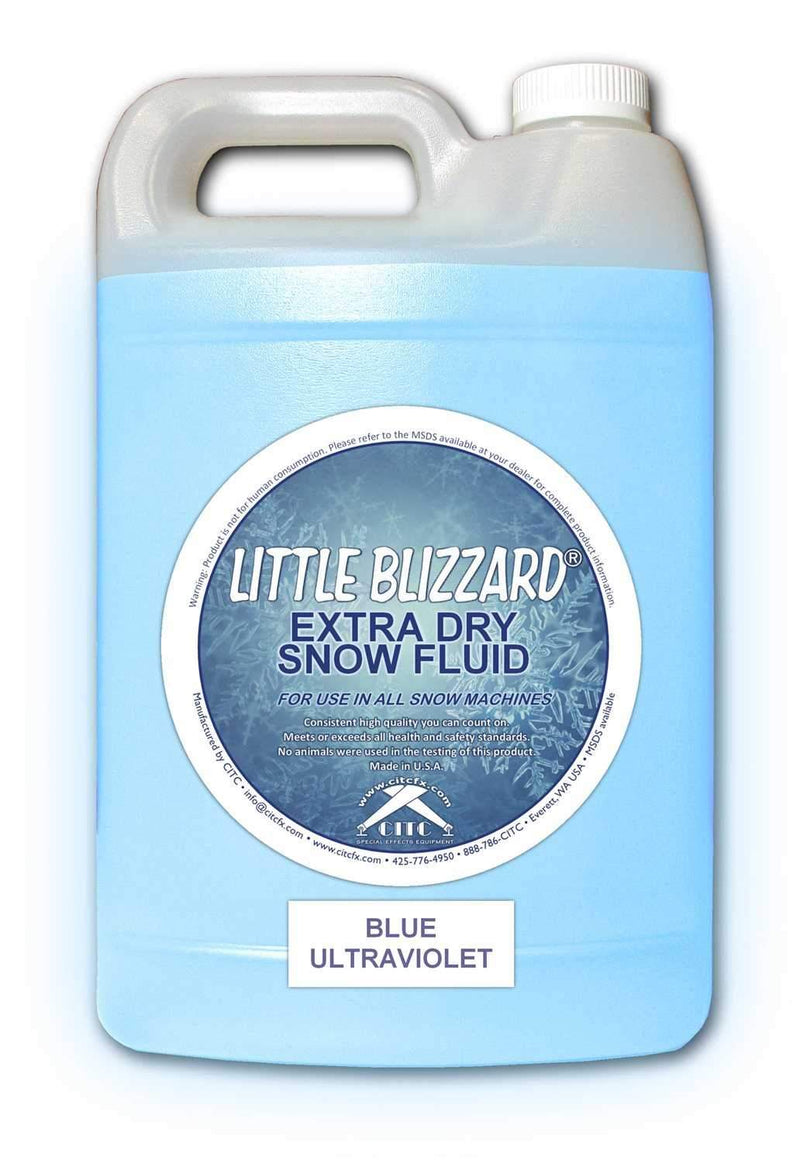 CITC Little Blizzard UV Snow Fluid 1 Gallon - PSSL ProSound and Stage Lighting