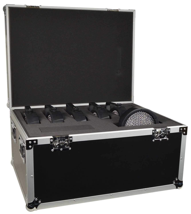 Universal Road Case for Lights w Pick/Pluck Foam - PSSL ProSound and Stage Lighting