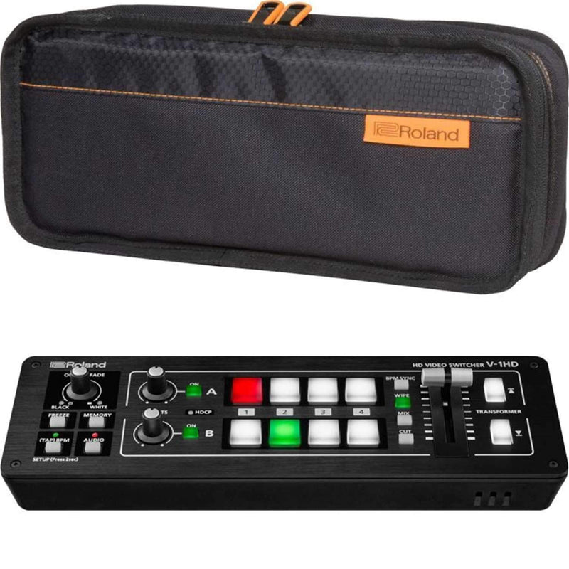 Roland V-1HD 4-Channel Digital Video Mixer with Bag - PSSL ProSound and Stage Lighting