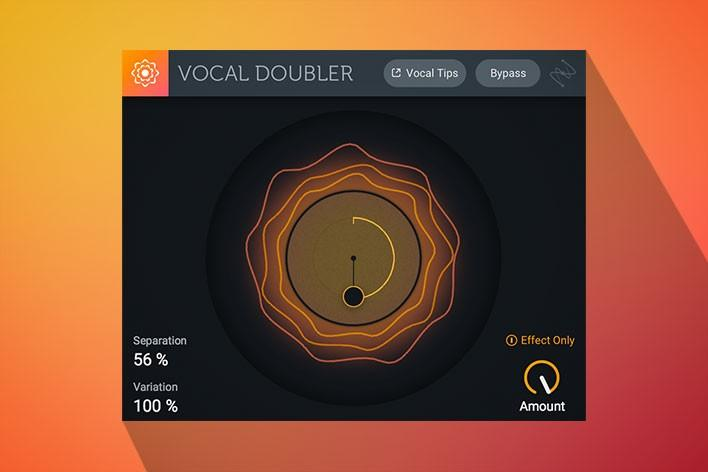 iZatope Vocal Doubler Plug-In - PSSL ProSound and Stage Lighting