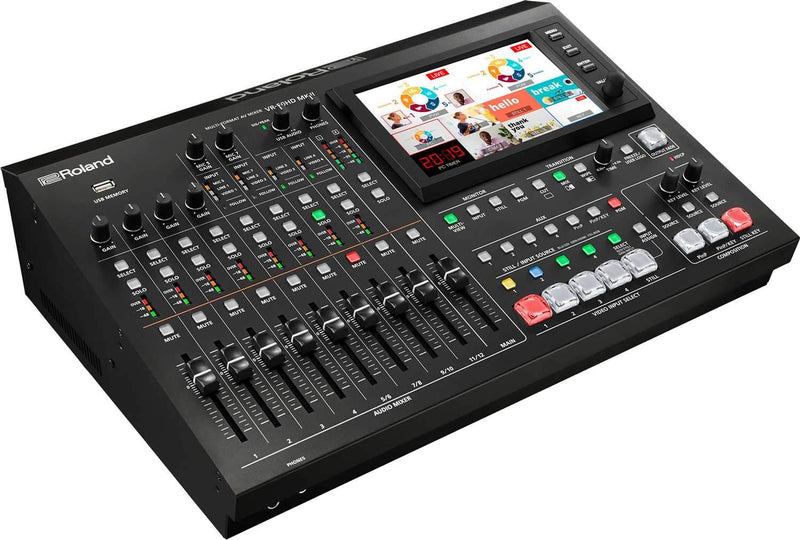 Roland VR-50HD MK II USB Streaming Multi-Format A/V Mixer - PSSL ProSound and Stage Lighting