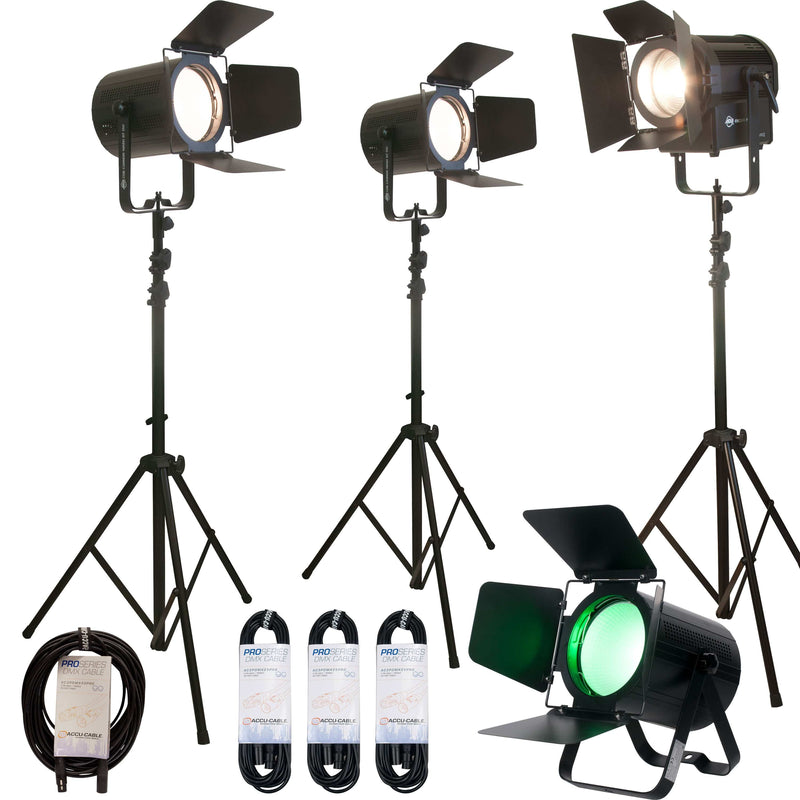 ADJ Variable White Stream Pak With 4 LED Lights - PSSL ProSound and Stage Lighting
