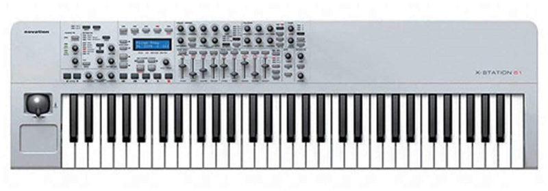 Novation X61 Audio/Midi Interface/Keyboard - PSSL ProSound and Stage Lighting