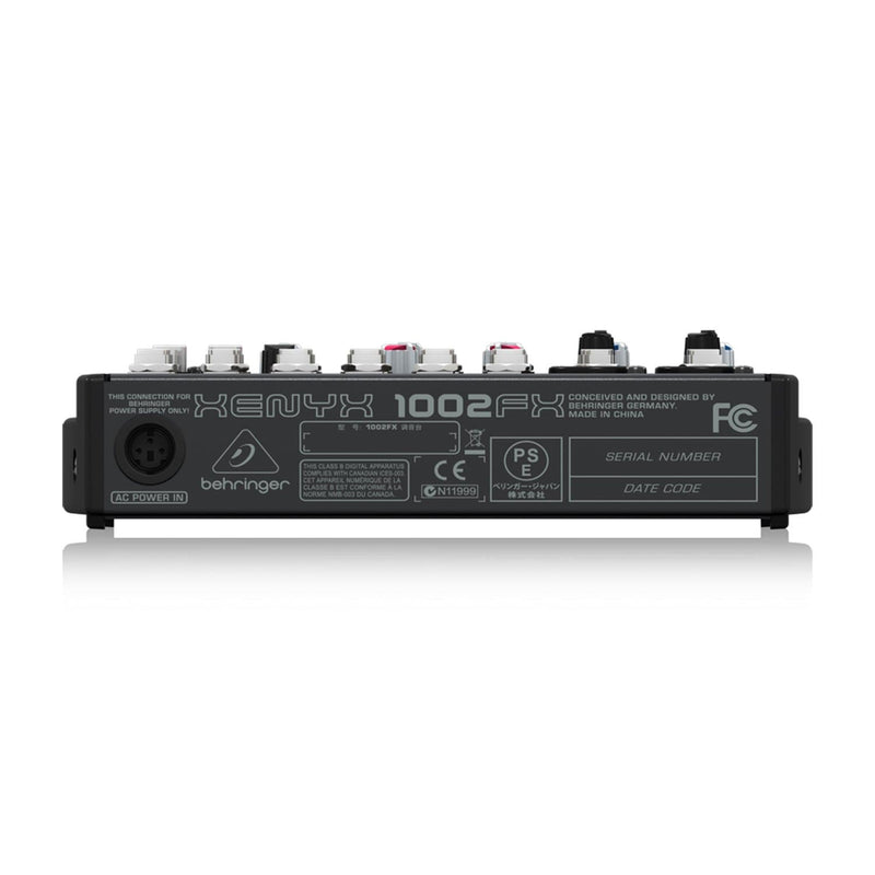 Behringer Xenyx 1002FX 10-Channel Mixer with FX - PSSL ProSound and Stage Lighting