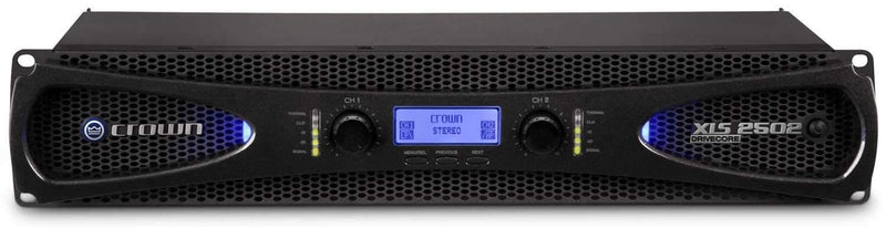Crown XLS2502 XLS DriveCore 2 PA Power Amplifier - PSSL ProSound and Stage Lighting