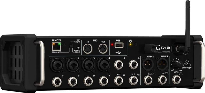 Behringer X Air XR12 12-Input Digital Mixer - PSSL ProSound and Stage Lighting