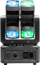 ADJ American DJ XS 600 6x10W RGBW Dual Moving Head Light - PSSL ProSound and Stage Lighting