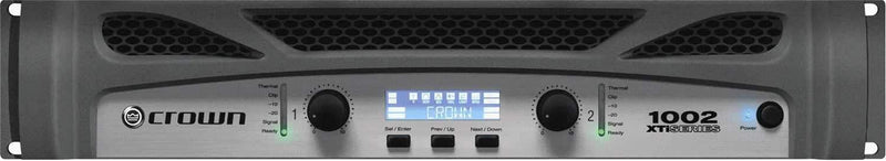 Crown XTi2 Series XTI1002 PA Power Amplifier 500W - PSSL ProSound and Stage Lighting