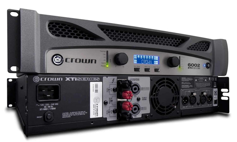 Crown XTI6002 Power Amplifier 1200W @ 8 Ohms - PSSL ProSound and Stage Lighting