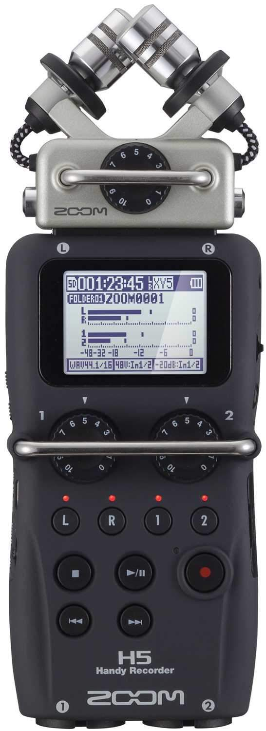 Zoom H5 4-Track Handheld Portable Field Recorder - PSSL ProSound and Stage Lighting