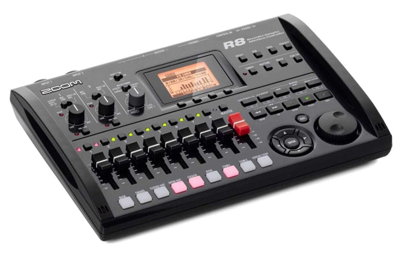 ZOOM R8 8-Track Digital Multi Track Recorder - PSSL ProSound and Stage Lighting