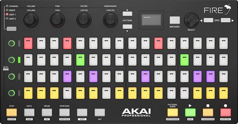 Akai Fire Grid Controller for FL Studio - ProSound and Stage Lighting