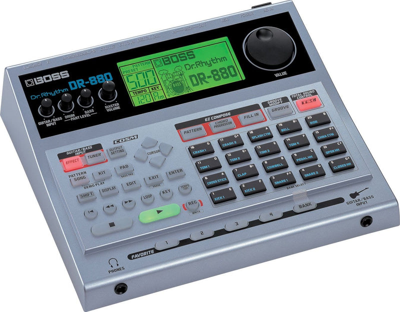 Boss DR-880 Rhythm-Programming Drum Machine - PSSL ProSound and Stage Lighting