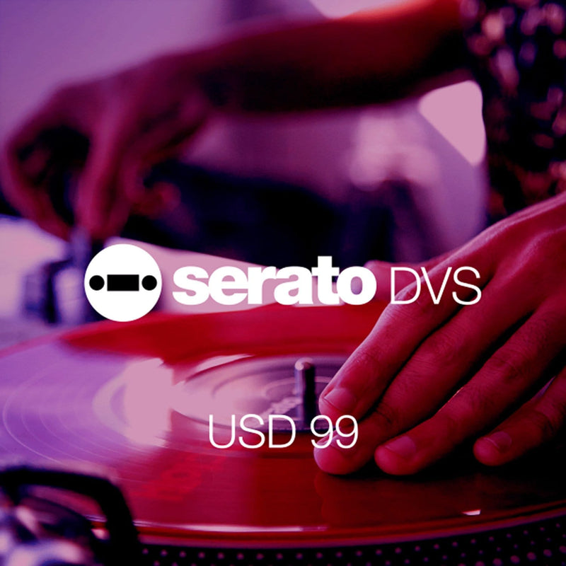 Serato DVS Expansion Control Software Scratch Card - ProSound and Stage Lighting