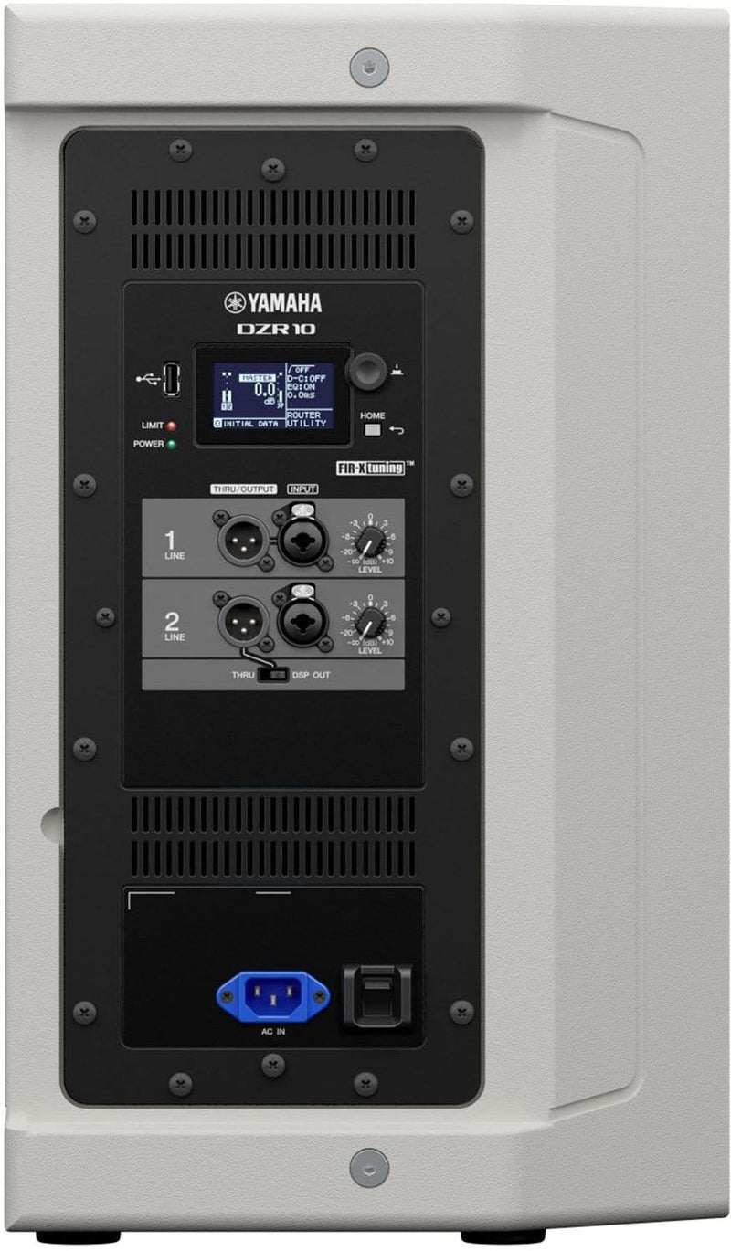 Yamaha DZR10W 2000-Watt 10-Inch Powered Loudspeaker White - PSSL ProSound and Stage Lighting