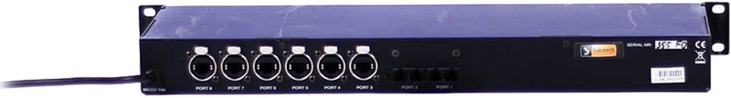 ELC dmXLAN switch8LX FO Network Switch - ProSound and Stage Lighting