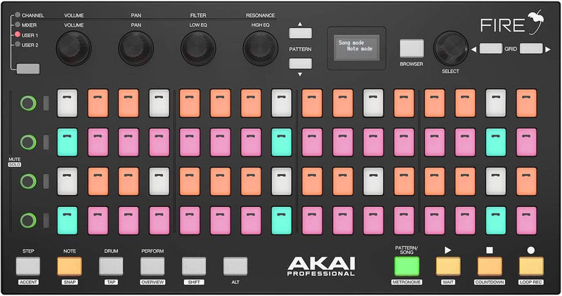 Akai Fire NS FL Studio Controller - No Software - ProSound and Stage Lighting