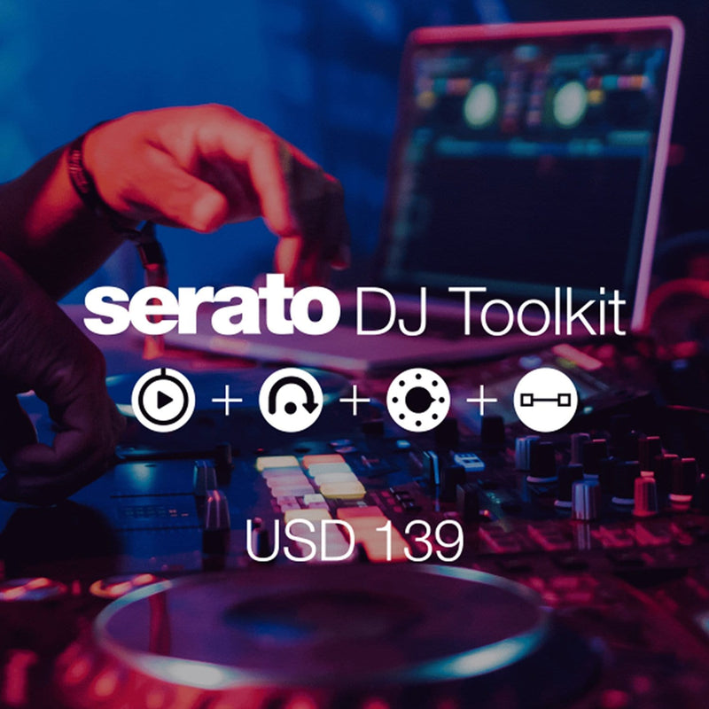 Serato Tool Kit Software Scratch Card - ProSound and Stage Lighting