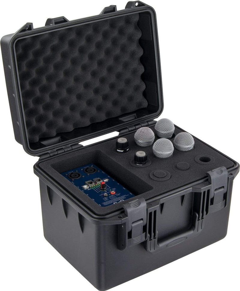 Odyssey VUMIC09 Watertight Mic Case for 9 Mics - PSSL ProSound and Stage Lighting