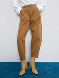 Brown Slouchy Jeans