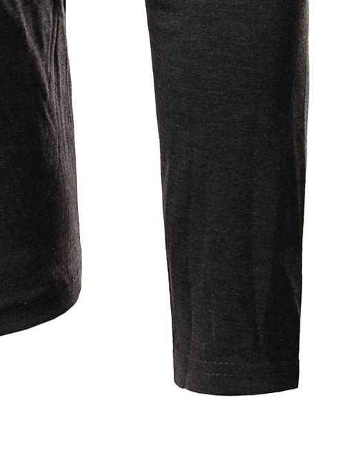 long sleeve polo-neck t-shirt sleeve