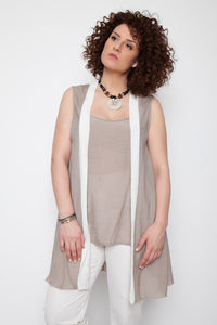 Blouse and vest