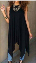 Load image into Gallery viewer, Long blouse/dress asymmetrical