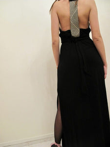 Maxi dress with detail
