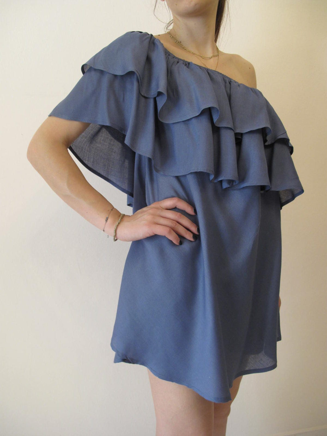 Blouse-Dress with ruffles