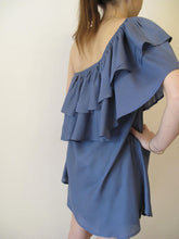 Load image into Gallery viewer, Blouse-Dress with ruffles