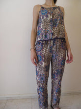Load image into Gallery viewer, Paisley 2 pieces set crop top with trousers