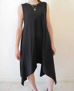 Long blouse/dress asymmetrical