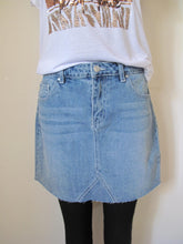 Load image into Gallery viewer, Mini jean skirt
