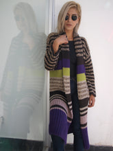 Load image into Gallery viewer, Multicolour cardigan long