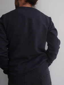 Sweatshirt Grey / Dark Blue