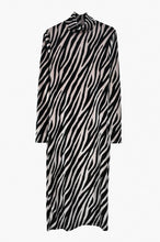 Load image into Gallery viewer, Midi animal print dress