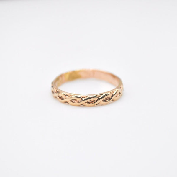 Textured Gold Filled Ring