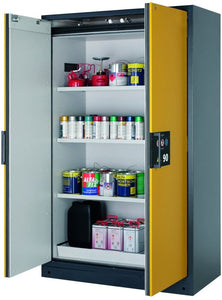 Asecos EN14470-1 Q 90 Fire Rated Cabinet Yellow