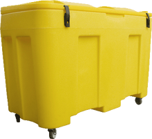 Load image into Gallery viewer, 400L Grit Bin for salt, sand, grit, chemical and spillage equipment