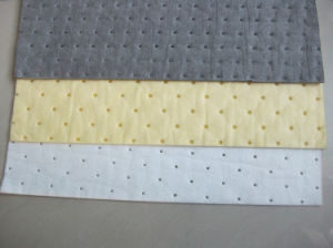 Absorbent Pads White Yellow Grey