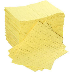 Absorbent Pads Chemical Yellow