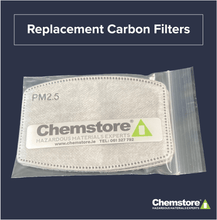 Load image into Gallery viewer, Chemstore replacement carbon filter pack PM2.5