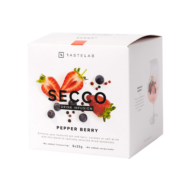 SECCO PEPPER BERRY DRINK INFUSION