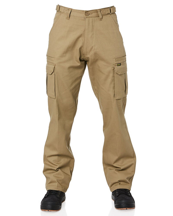 8 Pocket Cargo Pants - Khaki