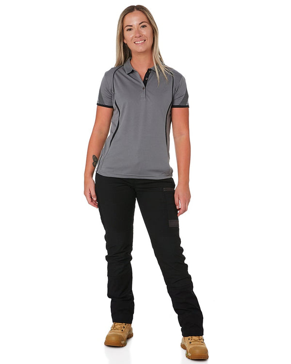 WP-3W Ladies Stretch Work Pants - Black