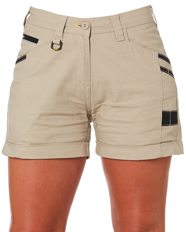 Womens Flex and Move Short Short - Stone