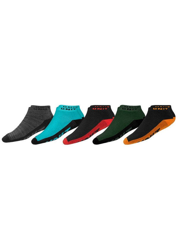 Frequency 5 Pack Socks 7-11 - Multi
