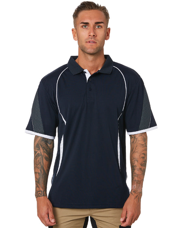 Razor Polo - Navy/White